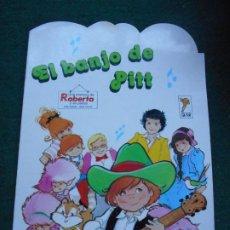 Libros de segunda mano: UNA AVENTURA DE ROBERTA Y SU PANDA GAMA S.A. 1.987 EL BANJO DE PITT. Lote 236755535