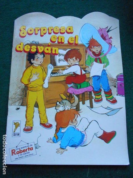 UNA AVENTURA DE ROBERTA Y SU PANDA GAMA S.A. 1.987 SORPRESA EN EL DESVÁN (Libros de Segunda Mano - Literatura Infantil y Juvenil - Otros)