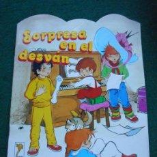 Libros de segunda mano: UNA AVENTURA DE ROBERTA Y SU PANDA GAMA S.A. 1.987 SORPRESA EN EL DESVÁN. Lote 236755610