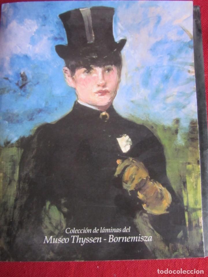 COLECCIÓN DE LÁMINAS DEL MUSEO THYSSEN-BORNEMISZA. COMPLETO 21 LÁMINAS. (Libros de Segunda Mano - Bellas artes, ocio y coleccionismo - Otros)