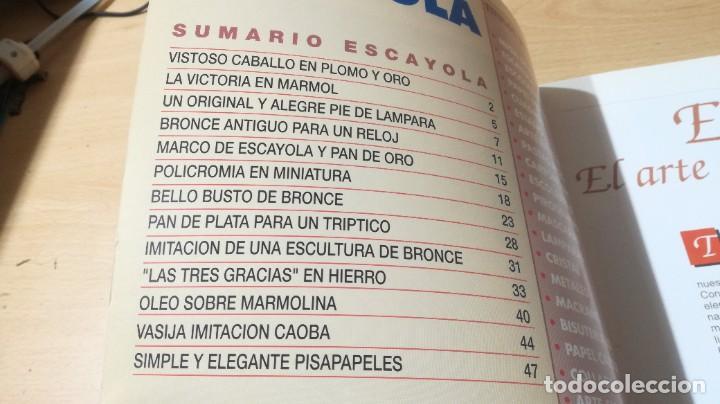 Libros de segunda mano: ESCAYOLA / GRANADA / MANUALIDADES BRICOLAGE HOGAR / AE204 - Foto 3 - 236788965
