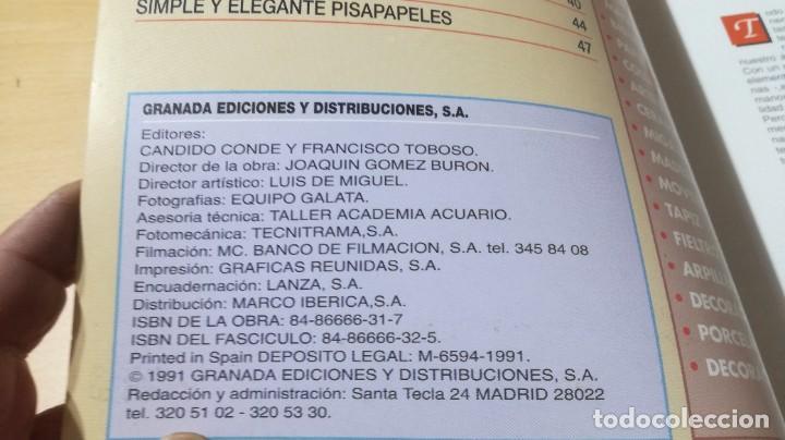 Libros de segunda mano: ESCAYOLA / GRANADA / MANUALIDADES BRICOLAGE HOGAR / AE204 - Foto 4 - 236788965