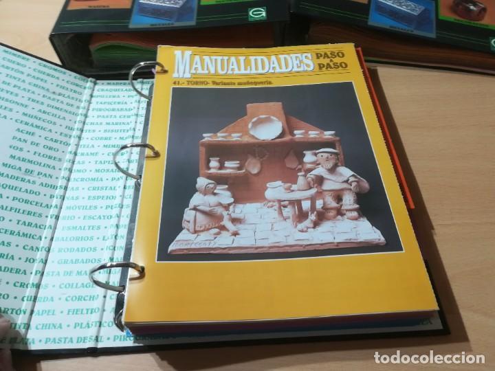 Libros de segunda mano: MANUALIDADES PASO A PASO / 3 FICHEROS - GRANADA / MANUALIDADES BRICOLAGE HOGAR / M507 - Foto 2 - 236789750