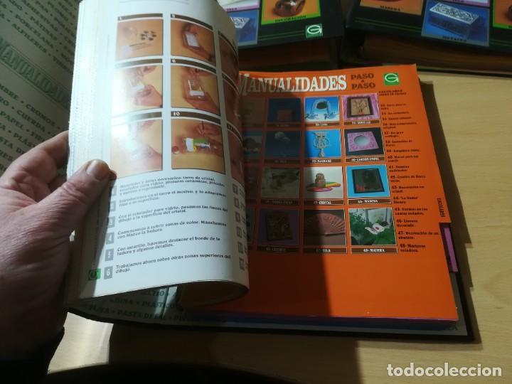 Libros de segunda mano: MANUALIDADES PASO A PASO / 3 FICHEROS - GRANADA / MANUALIDADES BRICOLAGE HOGAR / M507 - Foto 3 - 236789750
