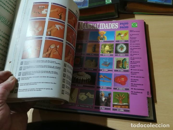Libros de segunda mano: MANUALIDADES PASO A PASO / 3 FICHEROS - GRANADA / MANUALIDADES BRICOLAGE HOGAR / M507 - Foto 4 - 236789750