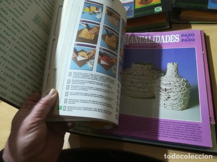Libros de segunda mano: MANUALIDADES PASO A PASO / 3 FICHEROS - GRANADA / MANUALIDADES BRICOLAGE HOGAR / M507 - Foto 6 - 236789750