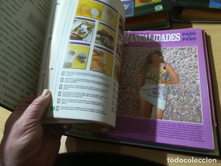 Libros de segunda mano: MANUALIDADES PASO A PASO / 3 FICHEROS - GRANADA / MANUALIDADES BRICOLAGE HOGAR / M507 - Foto 7 - 236789750