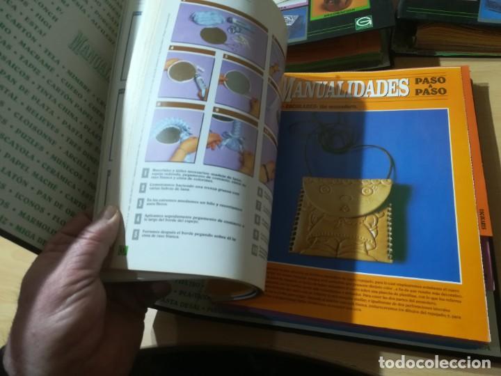 Libros de segunda mano: MANUALIDADES PASO A PASO / 3 FICHEROS - GRANADA / MANUALIDADES BRICOLAGE HOGAR / M507 - Foto 8 - 236789750