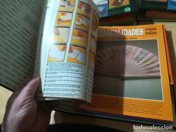 Libros de segunda mano: MANUALIDADES PASO A PASO / 3 FICHEROS - GRANADA / MANUALIDADES BRICOLAGE HOGAR / M507 - Foto 9 - 236789750