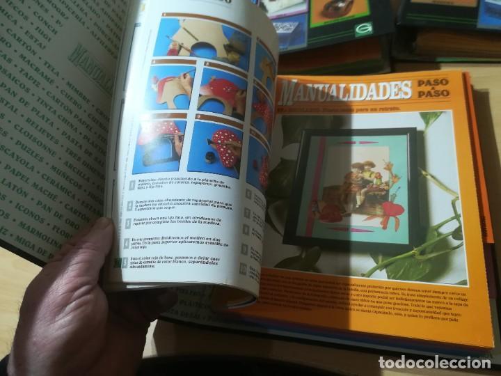 Libros de segunda mano: MANUALIDADES PASO A PASO / 3 FICHEROS - GRANADA / MANUALIDADES BRICOLAGE HOGAR / M507 - Foto 10 - 236789750