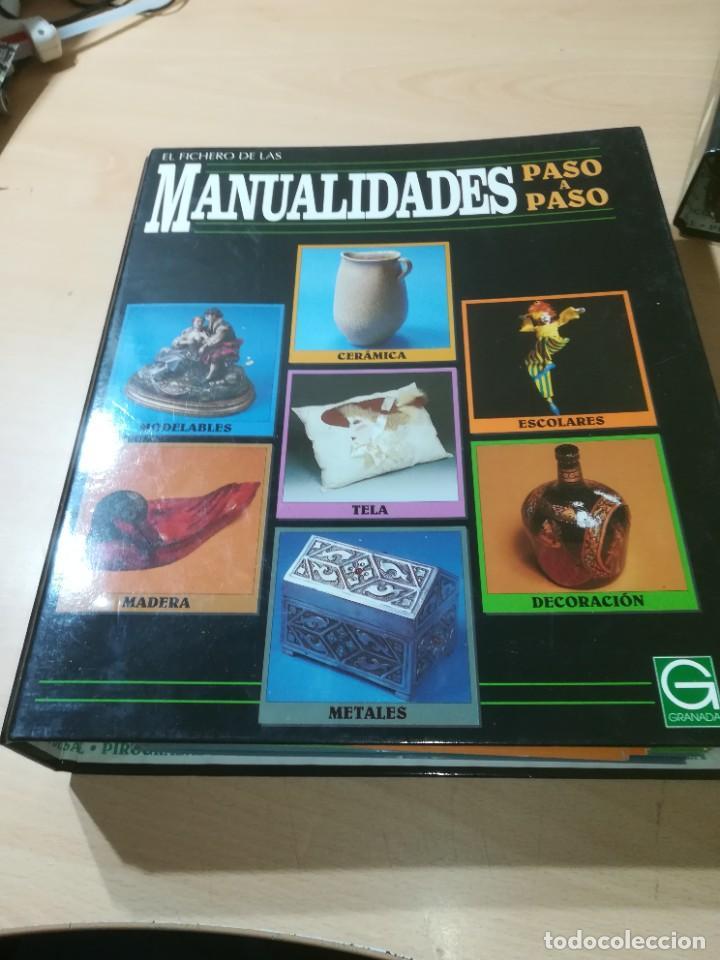 Libros de segunda mano: MANUALIDADES PASO A PASO / 3 FICHEROS - GRANADA / MANUALIDADES BRICOLAGE HOGAR / M507 - Foto 13 - 236789750