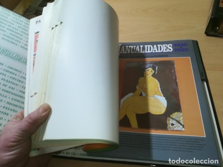 Libros de segunda mano: MANUALIDADES PASO A PASO / 3 FICHEROS - GRANADA / MANUALIDADES BRICOLAGE HOGAR / M507 - Foto 15 - 236789750