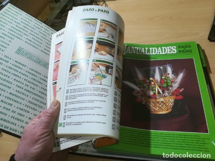 Libros de segunda mano: MANUALIDADES PASO A PASO / 3 FICHEROS - GRANADA / MANUALIDADES BRICOLAGE HOGAR / M507 - Foto 19 - 236789750