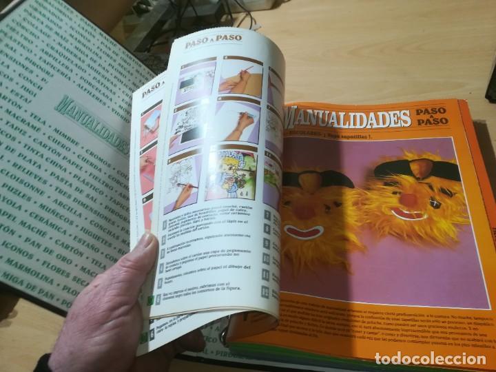 Libros de segunda mano: MANUALIDADES PASO A PASO / 3 FICHEROS - GRANADA / MANUALIDADES BRICOLAGE HOGAR / M507 - Foto 21 - 236789750
