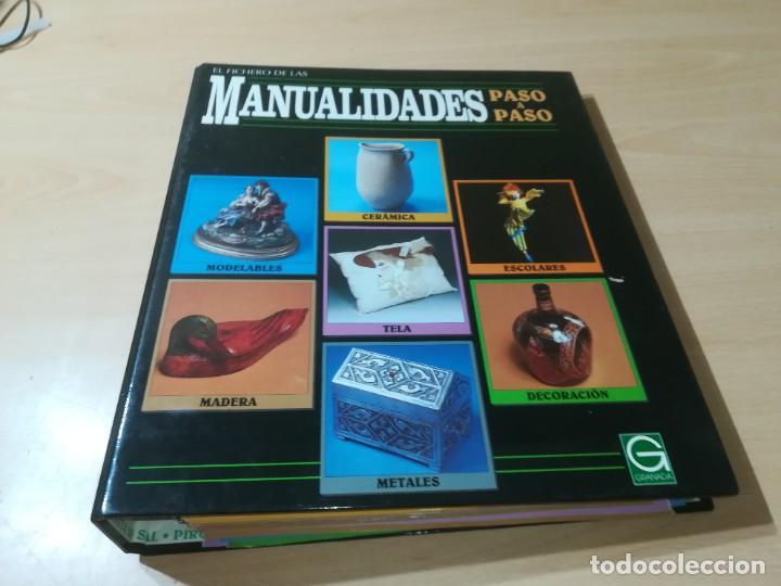Libros de segunda mano: MANUALIDADES PASO A PASO / 3 FICHEROS - GRANADA / MANUALIDADES BRICOLAGE HOGAR / M507 - Foto 22 - 236789750