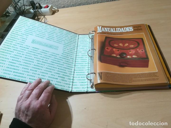 Libros de segunda mano: MANUALIDADES PASO A PASO / 3 FICHEROS - GRANADA / MANUALIDADES BRICOLAGE HOGAR / M507 - Foto 23 - 236789750