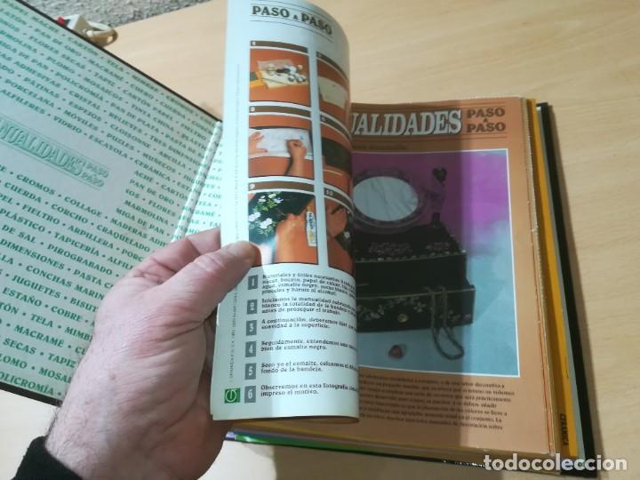 Libros de segunda mano: MANUALIDADES PASO A PASO / 3 FICHEROS - GRANADA / MANUALIDADES BRICOLAGE HOGAR / M507 - Foto 27 - 236789750