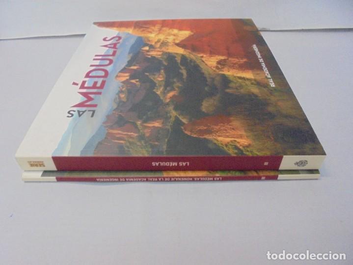 Libros de segunda mano: LAS MEDULAS. REAL ACADEMIA DE INGENIERIA. HOMENAJE A LAS MINAS DE ORO. 2 LIBROS. 2009 - Foto 2 - 236809130