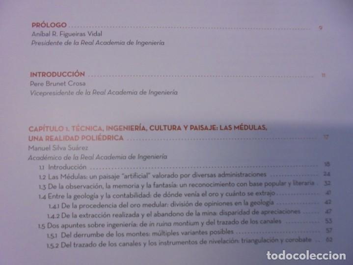 Libros de segunda mano: LAS MEDULAS. REAL ACADEMIA DE INGENIERIA. HOMENAJE A LAS MINAS DE ORO. 2 LIBROS. 2009 - Foto 5 - 236809130