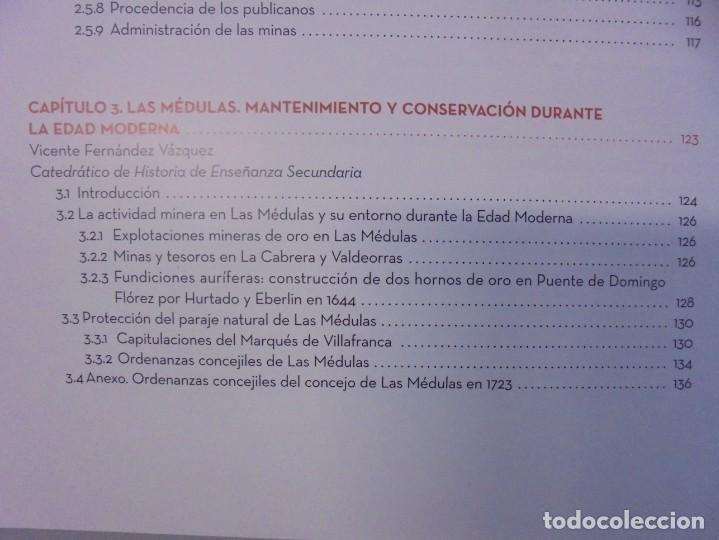 Libros de segunda mano: LAS MEDULAS. REAL ACADEMIA DE INGENIERIA. HOMENAJE A LAS MINAS DE ORO. 2 LIBROS. 2009 - Foto 7 - 236809130