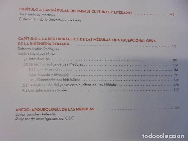 Libros de segunda mano: LAS MEDULAS. REAL ACADEMIA DE INGENIERIA. HOMENAJE A LAS MINAS DE ORO. 2 LIBROS. 2009 - Foto 8 - 236809130