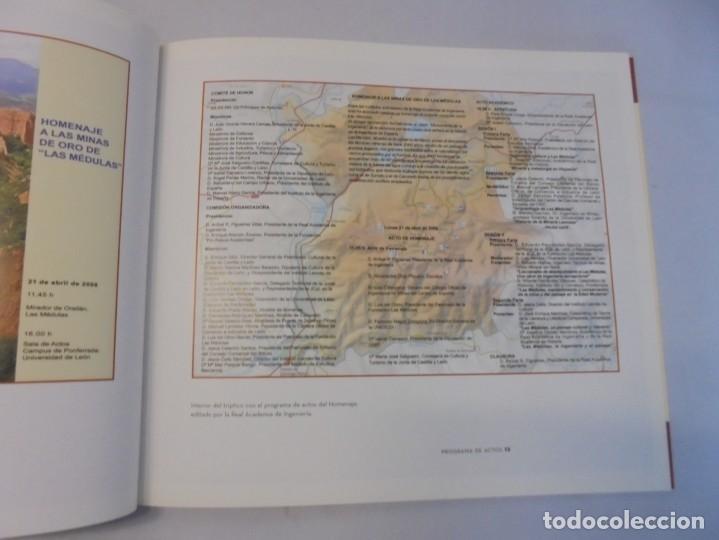 Libros de segunda mano: LAS MEDULAS. REAL ACADEMIA DE INGENIERIA. HOMENAJE A LAS MINAS DE ORO. 2 LIBROS. 2009 - Foto 18 - 236809130