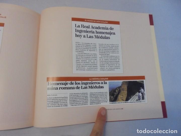 Libros de segunda mano: LAS MEDULAS. REAL ACADEMIA DE INGENIERIA. HOMENAJE A LAS MINAS DE ORO. 2 LIBROS. 2009 - Foto 21 - 236809130