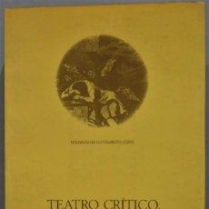 Libros de segunda mano: TEATRO CRÍTICO. ENSAYOS FILOSÓFICOS. FEIJOO. Lote 236815215