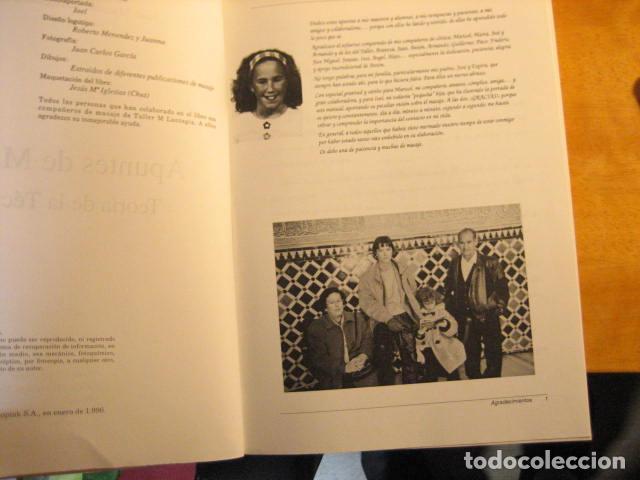 Libros de segunda mano: APUNTES DE MASAJE, TEORIA DE LA TECNICA, RODRIGUEZ ALONSO, 512PGS MUY COMPLETO - Foto 4 - 236816465
