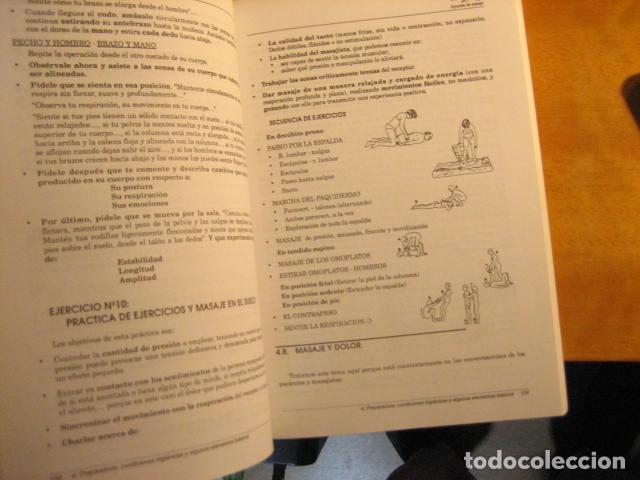 Libros de segunda mano: APUNTES DE MASAJE, TEORIA DE LA TECNICA, RODRIGUEZ ALONSO, 512PGS MUY COMPLETO - Foto 8 - 236816465