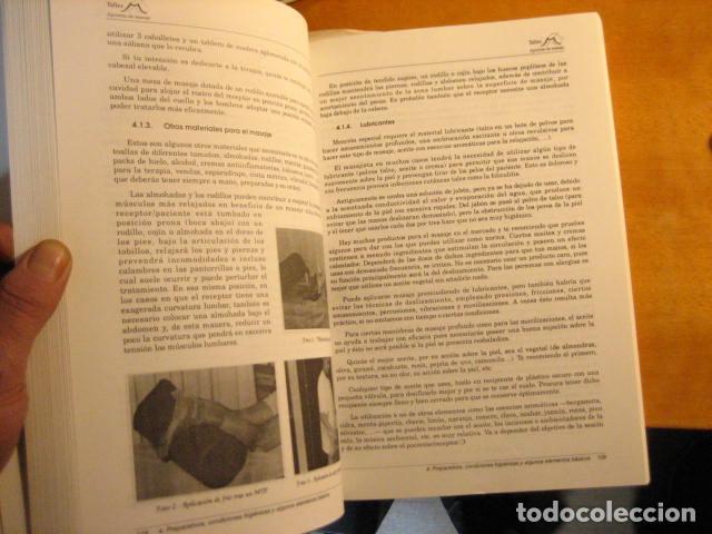 Libros de segunda mano: APUNTES DE MASAJE, TEORIA DE LA TECNICA, RODRIGUEZ ALONSO, 512PGS MUY COMPLETO - Foto 10 - 236816465