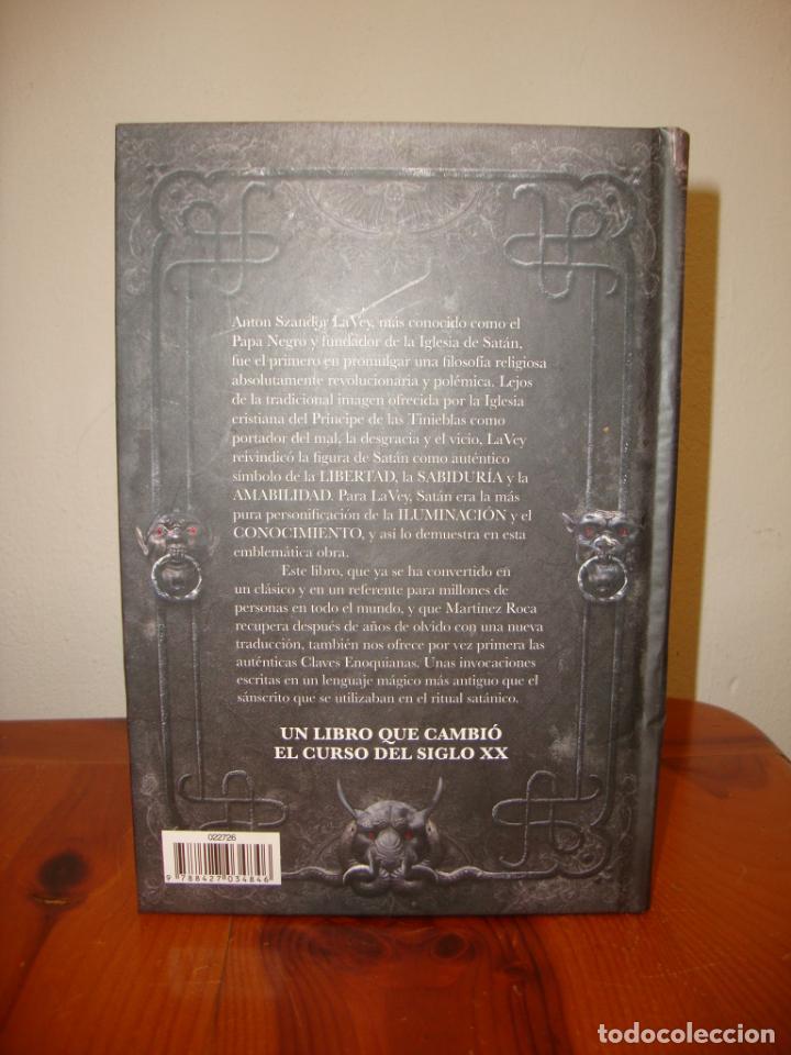 Libros de segunda mano: LA BIBLIA SATÁNICA - ANTON SZANDER LAVEY - MARTÍNEZ ROCA, MUY BUEN ESTADO - Foto 3 - 236847220