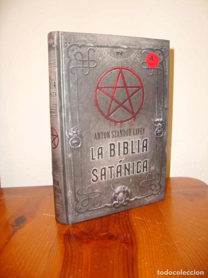 LA BIBLIA SATÁNICA - ANTON SZANDER LAVEY - MARTÍNEZ ROCA, MUY BUEN ESTADO (Libros de Segunda Mano - Parapsicología y Esoterismo - Otros)