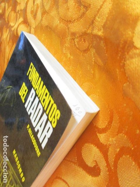 Libros de segunda mano: FUNDAMENTOS DEL RADAR. P. DELACOUDRE. MARCOMBO EDICIONES TECNICAS - Foto 3 - 236849210