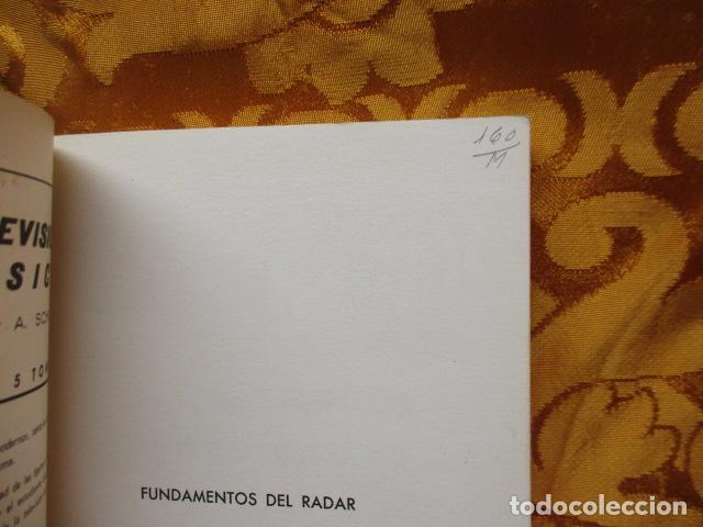 Libros de segunda mano: FUNDAMENTOS DEL RADAR. P. DELACOUDRE. MARCOMBO EDICIONES TECNICAS - Foto 4 - 236849210