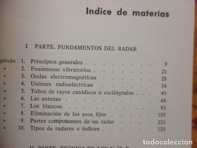 Libros de segunda mano: FUNDAMENTOS DEL RADAR. P. DELACOUDRE. MARCOMBO EDICIONES TECNICAS - Foto 6 - 236849210