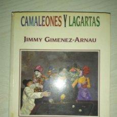 Libros de segunda mano: CAMALEONES LAGARTAS. Lote 237002345