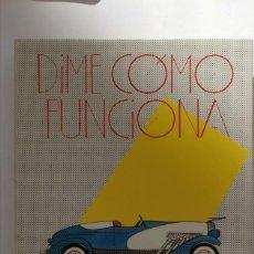 Libros de segunda mano: LIBRO COMO FUNCIONA. Lote 237004755