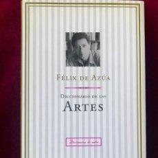 Libros de segunda mano: DICCIONARIO DE LA ARTES. FÉLIX DE AZÚA. Lote 237008330
