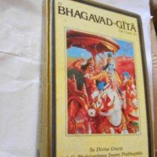 Libros de segunda mano: BHAGAVAD GITA. Lote 237014655