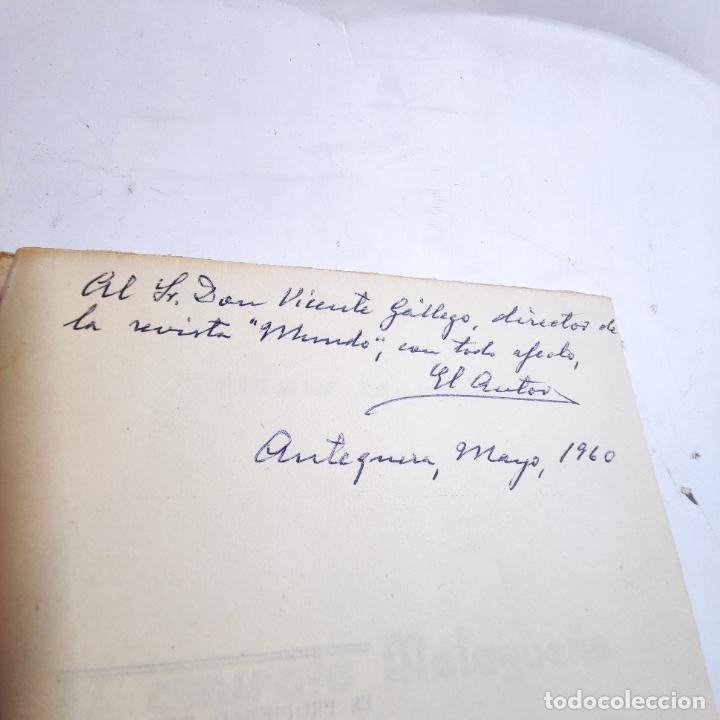 Libros de segunda mano: El amirato Malagueño de los Beni Hafsum. Fermín Requena. Antequera. Gráficas San Rafael. 1959. - Foto 3 - 237065810