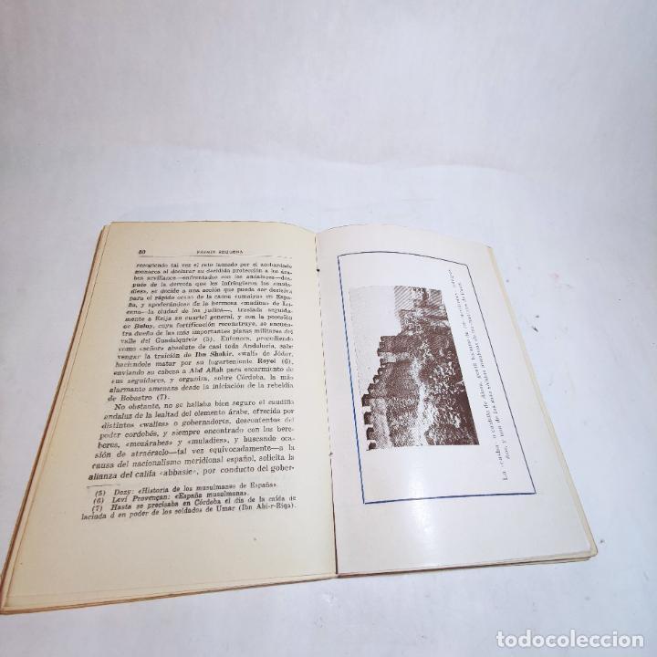Libros de segunda mano: El amirato Malagueño de los Beni Hafsum. Fermín Requena. Antequera. Gráficas San Rafael. 1959. - Foto 6 - 237065810