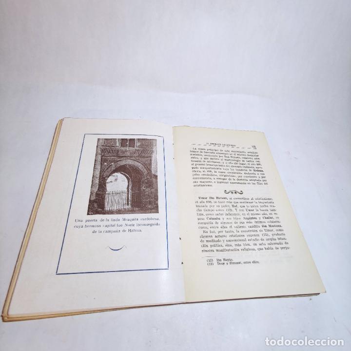 Libros de segunda mano: El amirato Malagueño de los Beni Hafsum. Fermín Requena. Antequera. Gráficas San Rafael. 1959. - Foto 8 - 237065810