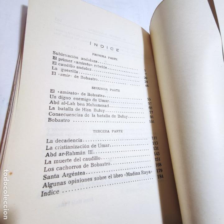 Libros de segunda mano: El amirato Malagueño de los Beni Hafsum. Fermín Requena. Antequera. Gráficas San Rafael. 1959. - Foto 10 - 237065810