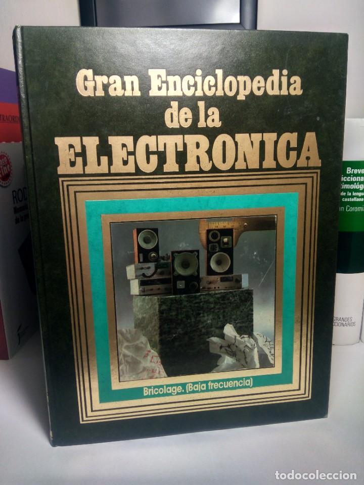 GRAN ENCICLOPEDIA DE LA ELECTRÓNICA - EDICIONES NUEVA LENTE, 1984 - TOMO 8 (Libros de Segunda Mano - Ciencias, Manuales y Oficios - Otros)