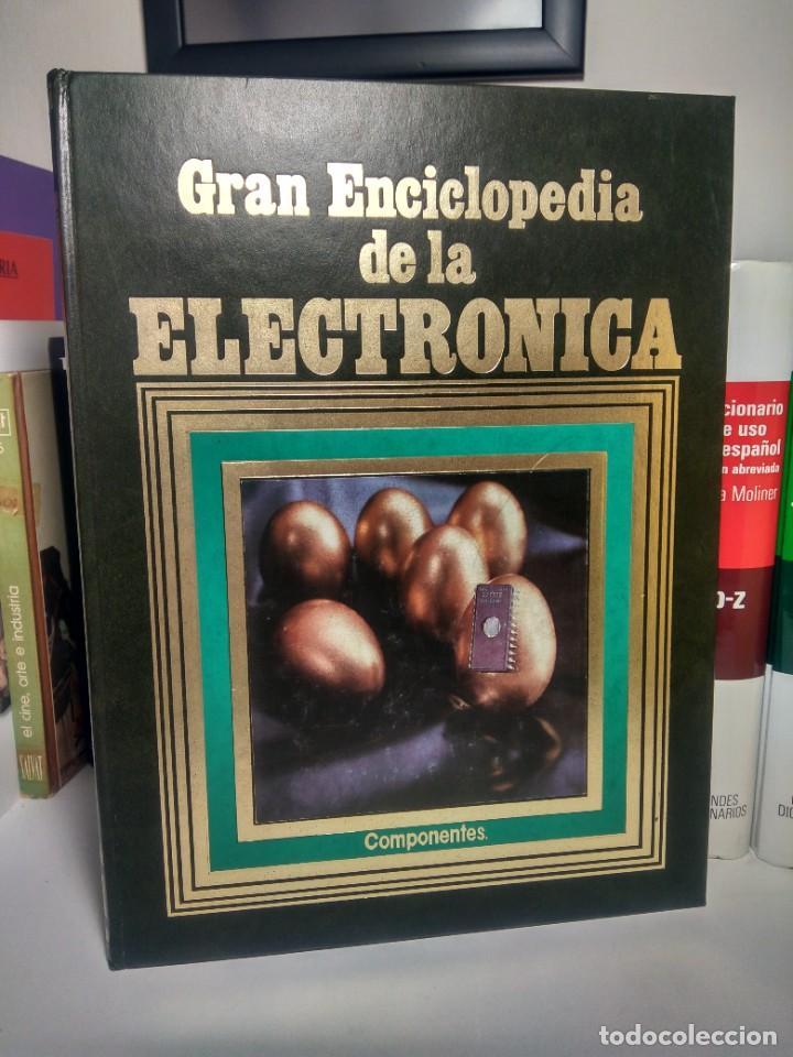 GRAN ENCICLOPEDIA DE LA ELECTRÓNICA - EDICIONES NUEVA LENTE, 1984 - TOMO 1 (Libros de Segunda Mano - Ciencias, Manuales y Oficios - Otros)