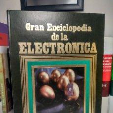 Libros de segunda mano: GRAN ENCICLOPEDIA DE LA ELECTRÓNICA - EDICIONES NUEVA LENTE, 1984 - TOMO 1. Lote 237085620