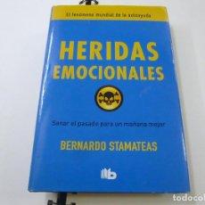 Libros de segunda mano: HERIDAS EMOCIONALES - BERNARDO STAMATEAS -N 9. Lote 237173650