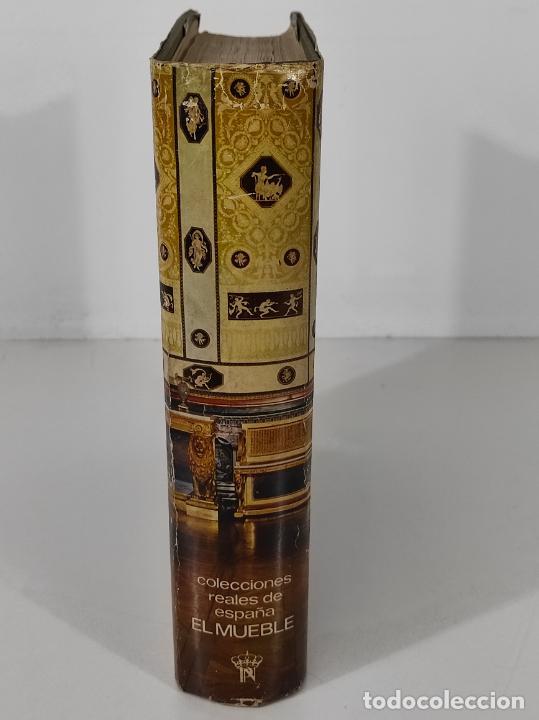 Libros de segunda mano: Colecciones Reales de España El Mueble - L. Feduchi - Editorial Patrimonio Nacional - Año 1965 - Foto 2 - 237250875