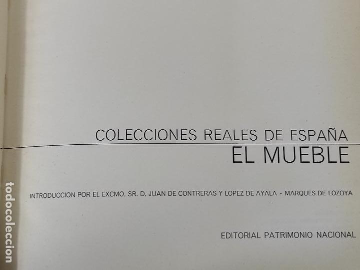 Libros de segunda mano: Colecciones Reales de España El Mueble - L. Feduchi - Editorial Patrimonio Nacional - Año 1965 - Foto 5 - 237250875